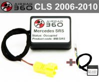Mercedes SRS CLS Passenger Seat mat Occupancy Sensor, occupied recognition sensor  emulator